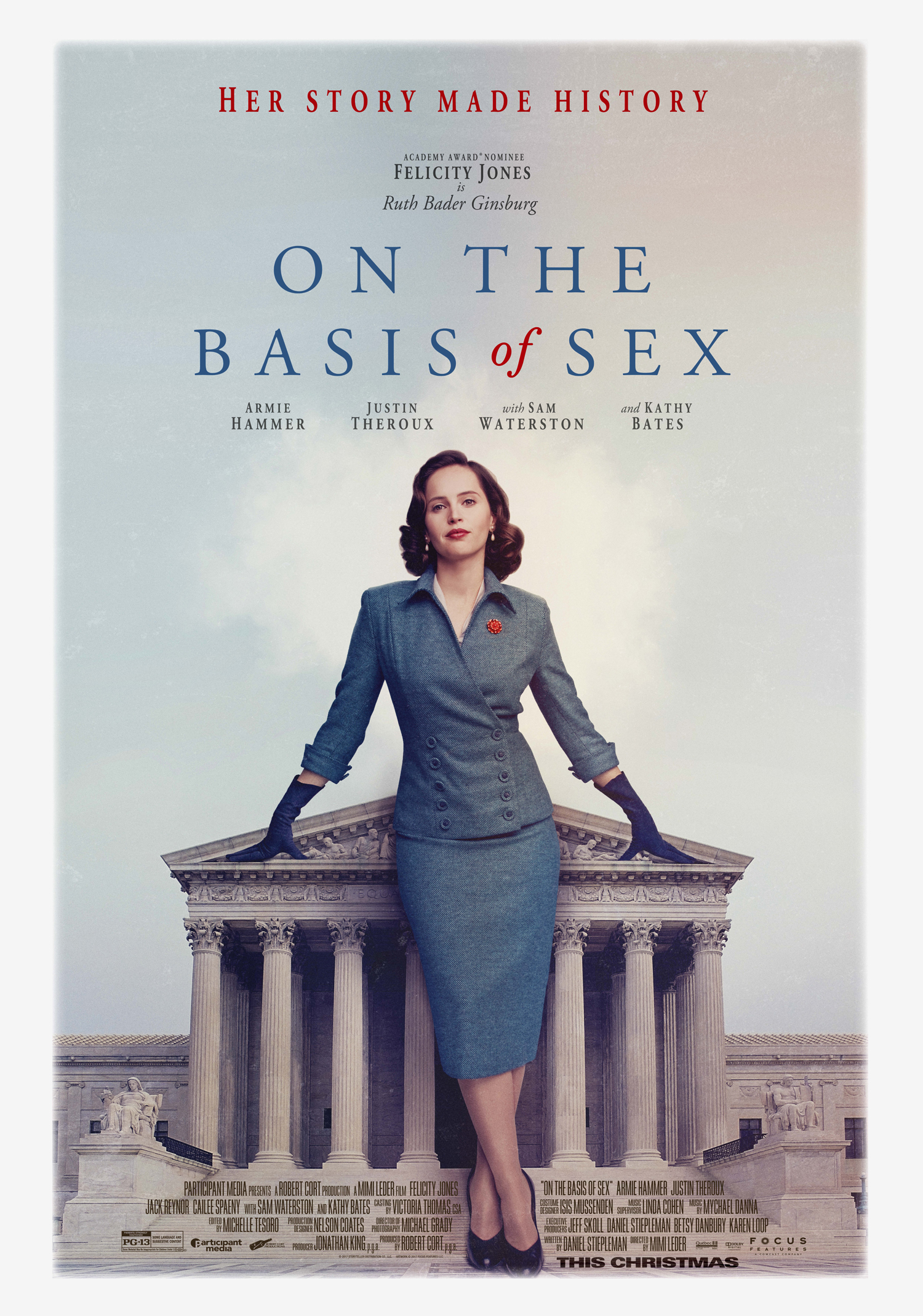 DVD: On the Basis of Sex