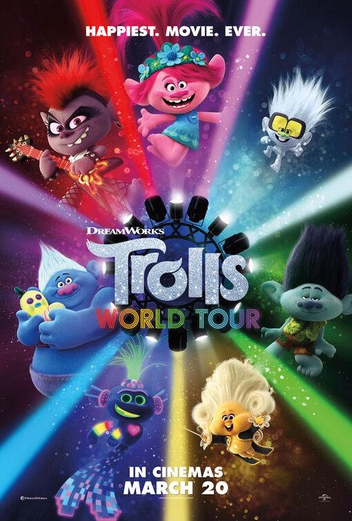 Film : Les Trolls 2: tournée mondiale