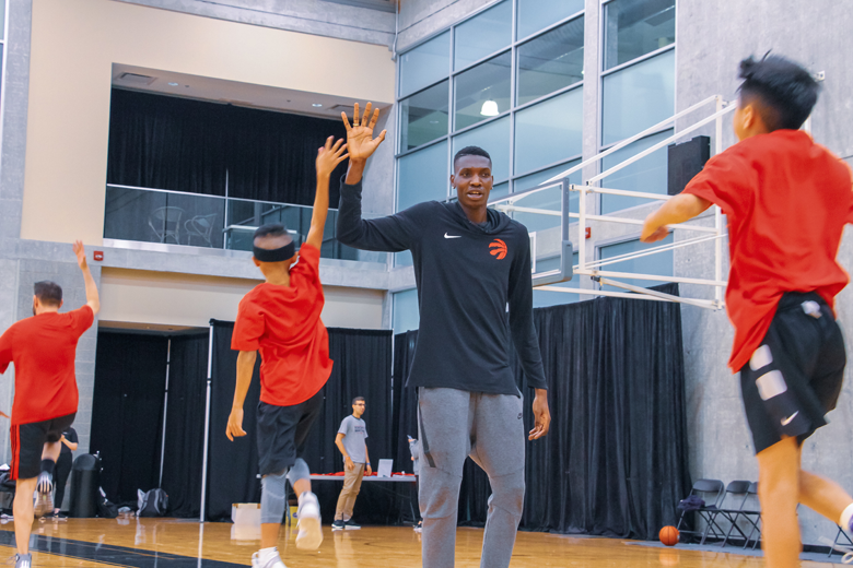 Chris Boucher: Community Basketball Camp and BBQ in TMR on July 27